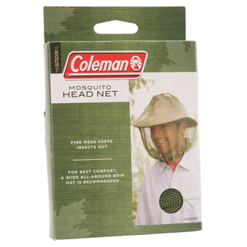 Coleman Insect Head Net Green 2000014864, UPC : 076501907292