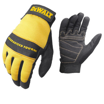 DeWalt All Purpose Synthetic Leather Glove - Large, UPC :674326217802