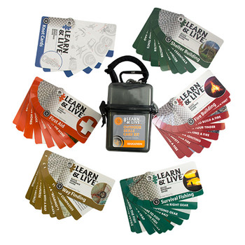 UST Learn and Live Cards - Outdoor Skills Set, UPC :811747027522