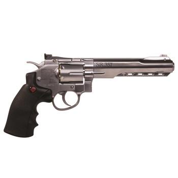 Crosman 357 CO2 BB Pistol Silver, UPC : 028478145092