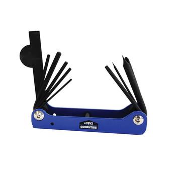 Birchwood Casey Gun Plumber Folding Multi-Tool 10 Tools, UPC : 029057420012
