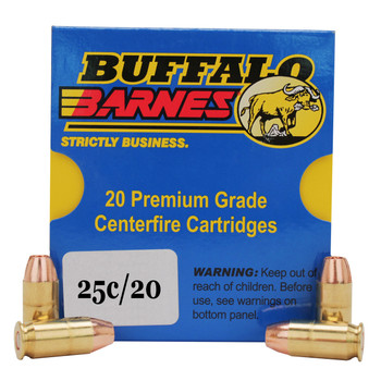 Buffalo Bore Ammunition 357 Sig 125 Grain Barnes TAC-XP Hollow Point Low Flash Lead-Free Box of 20, UPC :651815025032