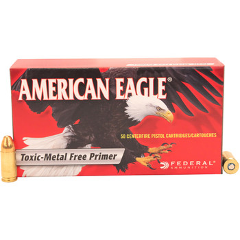 Federal American Eagle Ammunition 9mm Luger 124 Grain Total Metal Jacket Box of 50, UPC : 029465093532