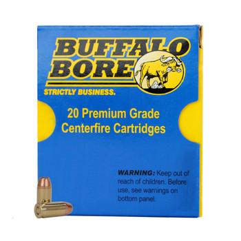 Buffalo Bore Ammunition Outdoorsman 45 Colt (Long Colt) 255 Grain Lead Semi-Wadcutter Gas Check Box of 20, UPC :651815003252