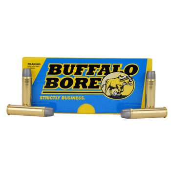 Buffalo Bore Ammunition 460 SW Magnum 360 Grain Lead Flat Nose Box of 20, UPC :651815026022
