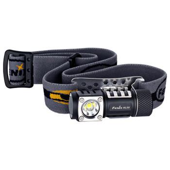 Fenix HL50 Headlamp LED requires 1 CR123A or 1 AA Battery Aluminum Black, UPC :6942870302652