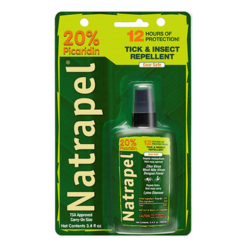 Natrapel 8-Hour Deet Free Insect Repellent Spray 3.4 oz, UPC : 044224068712