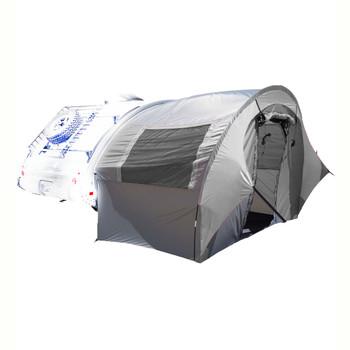TAB Trailer Side Tent - silvr/silvr trim, UPC :721209077012