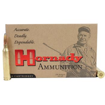 Hornady Custom Ammunition 264 Winchester Magnum 140 Grain Interlock Spire Point Box of 20, UPC : 090255381542