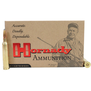 Hornady Custom Ammunition 264 Winchester Magnum 140 Grain Interlock Spire Point Box of 20, UPC : 090255381542