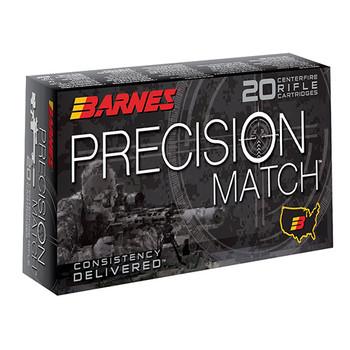 Barnes Precision Match Ammunition 6.5 Creedmoor 140 Grain Open Tip Match Box of 20, UPC :716876022472