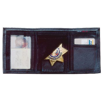 Leather Trifold Wallet, UPC :792695002192