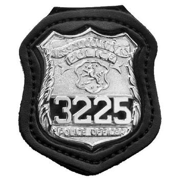 Nypd Badge Holder, UPC :792695229872