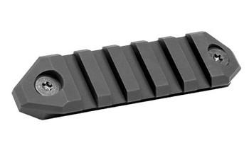 Advanced Armament Corp Squaredrop Accessory Rail, Black Finish, Keymod Compatible 64267, UPC :847128010951