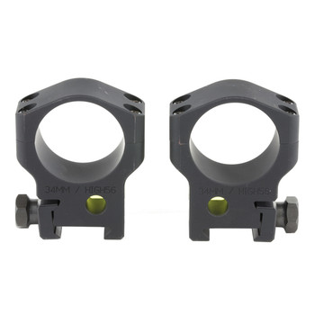 Accu-Tac Scope Rings, 34mm High (Clears 56mm Lens), Black Finish HSR-340, UPC :858520006091