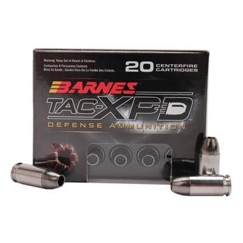 Barnes TAC-XPD, 380ACP, 80 Grain, TAC-XP, Hollow Point, Lead Free, 20 Round Box BPD380A1, UPC :716876138081