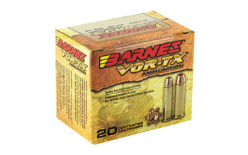 Barnes VOR-TX, 45LC, 200 Grain, XPB, Jacketed Hollow Point, Lead Free, 20 Round Box 21547, UPC :716876154531