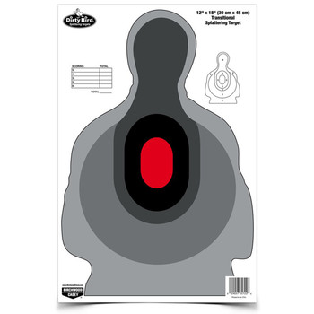 "Birchwood Casey Dirty Bird 12"" x 18"" Transitional Silhouette Target, 8 Targets 35727, UPC : 029057357271"