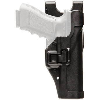 BLACKHAWK! Level 2 Duty SERPA Belt Holster, Fits Beretta 92/96/M9/M9A! (not Elite/Brigadier), Right Hand, Black 44H004BK-R, UPC :648018032561