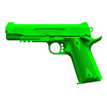 Cold Steel 1911 Demonstrator Gun, Polypropylene Frame, GreenFinish, Pistol Trainer, Hammer Down, Safety Off 92RGC11, UPC :705442012061