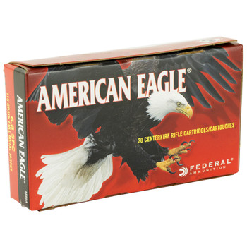 Federal American Eagle, 6.8SPC, 115 Grain, Full Metal Jacket, 20 Round Box AE68A, UPC : 029465064051
