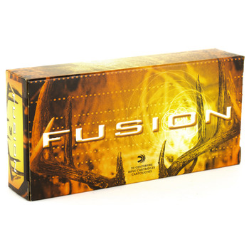 Federal Fusion, 243Win, 95 Grain, Soft Point, 20 Round Box F243FS1, UPC : 029465097851