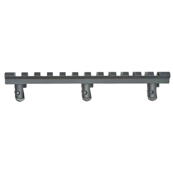 GG&G, Inc. Rail, Fits Handguard, Under Foregrip, Integrated Rail, Black GGG-1120, UPC :813157000461
