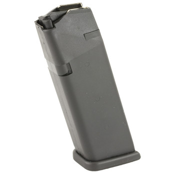 Glock OEM Magazine, 10MM, 15Rd, Fits GLOCK 20, Cardboard Style Packaging, Black Finish 2015, UPC :764503200151