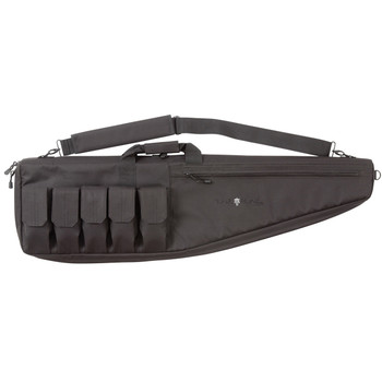 "Allen Duty Tactical Rifle Case, Black Endura Fabric, Gun Securing Strap System, Padded Internal Zipper Shield, Adjustable Magazine Pockets, Zippered Accessory Pocket, Padded Shoulder Strap, 38"" 10930, UPC : 026509010951"
