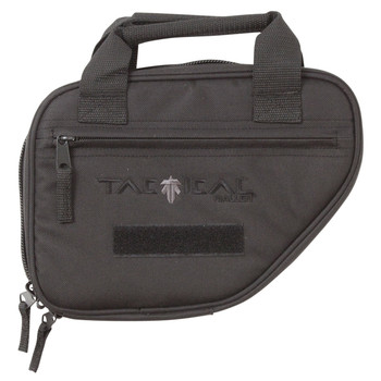 "Allen Battalion Single Pistol Case, Black Polyester Fabric, 9""x7"", Neoprene Internal Gun Pocket, Inteernal Magazine Straps, External Accessory Pocket, Lockable Zippers 10940, UPC : 026509011101"