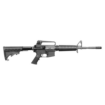 "Bushmaster Patrolman's Carbine, Semi-Automatic Rifle, 223 Rem/556NATO, 16"" Barrel, Bayonet Lug and A2 Flash Hider, Black Finish, 6 Postion Stock, A2 Carry Handle, 30Rd 90216, UPC :604206072641"