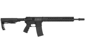 """Bushmaster Minimalist, Semi-Automatic Rifle, 223 Rem/556NATO, 16"""" Barrel, Matte Finish, MFT Minimalist Stock, Lightweight, AAC 51T Muzzle Brake, 30Rd, A3 Sights 91056, UPC :604206910561"""
