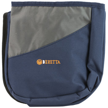 "Beretta 50 Cartridge Shell Pouch, Belt Attach, 8"" X 4"" X 8"", Blue And Gray BSL10189054V, UPC : 082442709581"