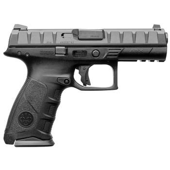 "Beretta APX, Semi-Automatic, Striker Fired, Full Size, 9MM, 4.25"" Barrel, Polymer Frame, Blue Finish, 2 Magazines, 17 Rounds JAXF921, UPC : 082442874241"