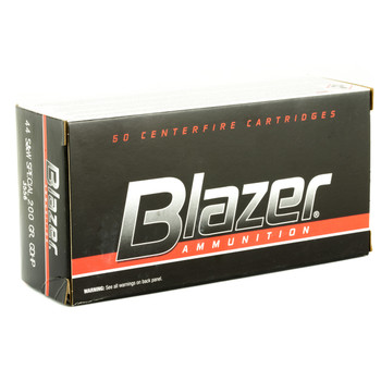 CCI/Speer Blazer, 44 Special, 200 Grain, Jacketed Hollow Point, 50 Round Box 3556, UPC : 076683035561