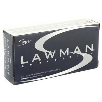 CCI/Speer 9mm, 115 Grain, Total Metal Jacket, 50 Round Box 53650, UPC : 076683536501
