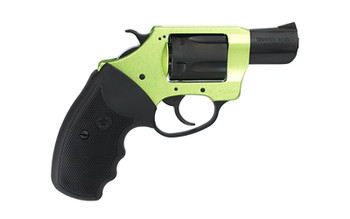 """Charter Arms Shamrock, 38 Special, 2"""" Barrel, Aluminum Frame, Green/Black Finish, Rubber Grips, Fixed Sights, 5Rd, Fired Case 53844, UPC :678958538441"""