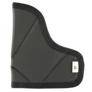 Desantis Mag-Packer Magazine Pouch, Fits Glock 17,19,20,21,22,23, Ambidextrous, Black Leather M38BJJJZ0, UPC :792695264521