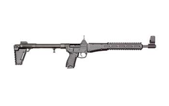 "Kel-Tec Model Sub 2K Gen 2, 40 Carbine, Semi-automatic Rifle, 40 S&W, 16.1"" Barrel, Blue Finish, Black Stock, Adjustable Sights, 10Rd, For Glock OEM 23 Magazine, Quad Rail SUB2K40GLK23BBLK, UPC :640832003161"