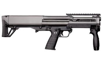 "Kel-Tec KSG Tactical, Pump Action Short-Barreled Shotgun, 12 Gauge, 13.5"" Barrel, Black Finish, Synthetic Stock, Tactical Handguard with Rails, 8Rd Tube KSGTACTICAL, UPC :640832006001"