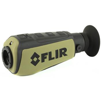 FLIR Scout II 320, 336x256 VOx Microbolometer, 2X Zoom, 640x480 LCD Display, FLIR Scout Series Thermal Camera, with WhiteHot, BlackHot, and InstAlert, FLIR Digital Enhancement, Embedded LED Tasklight, Rechargeable Li-Ion Internal Battery,USB Charging