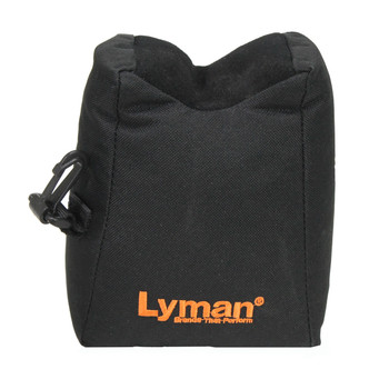 Lyman Universal Bag Rest, Filled, Black, Standard Size, Provides a Stable Front Rest for Any Rifle 7837803, UPC : 011516778031