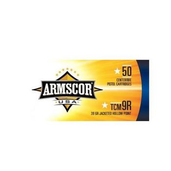 Armscor 22 Magunum 22TCM9R, 39 Grain, Jacketed Hollow Point, 50 Round Box FAC22TCMNR-1N, UPC :812285021751