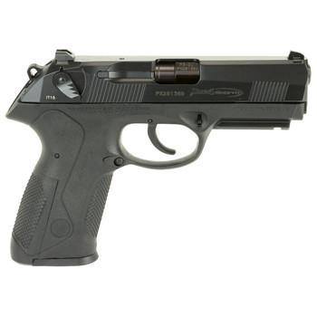 "Beretta PX4 Storm, Semi-automatic, Double Action, Full Size Pistol, 9MM, 4"" Barrel, Polymer Frame, Black Finish, 17Rd, 2 Mags, Picatinny Rail, Ambidextrous, 3 Dot Sights JXF9F21, UPC : 082442818191"