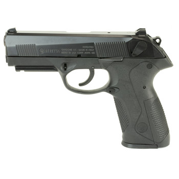 "Beretta PX4 Storm, Semi-automatic, Double Action, Full Size Pistol, 9MM, 4"" Barrel, Polymer Frame, Black Finish, 17Rd, 2 Mags, Picatinny Rail, Ambidextrous, 3 Dot Sights JXF9F21, UPC : 082442818191"