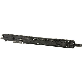 "Black Rain Ordnance 556 SOCOM, Complete Upper, 556NATO, 16"" SOCOM Profile Chromoly NATO Barrel, Black Finish, 1:7 Twist, BRO 15"" M-Lock Hybrid Handguard, Mid Lenght Gas System, ""LET IT RAIN"" Lazer Engraved Dust Cover, SPEC15 Nitride Coated Bolt And C"