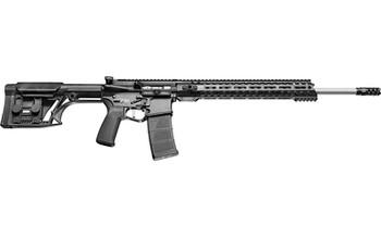 "Patriot Ordnance Factory Renegade Plus, Semi-automatic Rifle, 224 Valkyrie, 20"" Barrel, 1:7 Twist, Black Finish, Luth AR MBA Stock, 1 Magazine, 30Rd, 14.5"" MLOK Renegade Rail, Triple Port Muzzle Brake, POF-USA 3.5lb Drop-in FLAT Trigger 01480, UPC :8"