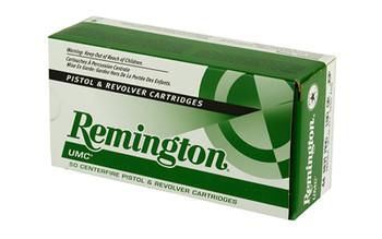 Remington UMC, 44MAG, 180 Grain, Jacketed Soft Point, 50 Round Box 23744, UPC : 047700169101