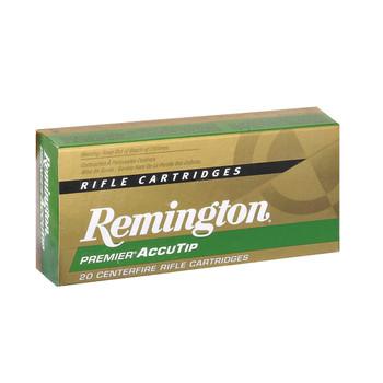 Remington Premier Accutip, 270WIN, 130 Grain, Boat Tail, 20 Round Box 29200, UPC : 047700360201