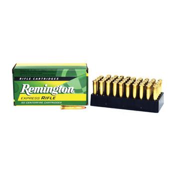 Remington Core Lokt, 22 Hornet, 45 Grain, Pointed Soft Point, 50 Round Box 28376, UPC : 047700050201